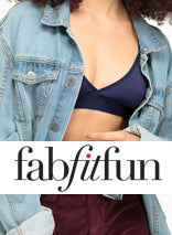 The Faux Leather Longline Bralette on Fab Fit Fun