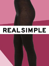 Eclipse Opaque Matte Tights on Real Simple