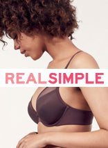 Classic Bandeau Bralette on Real Simple
