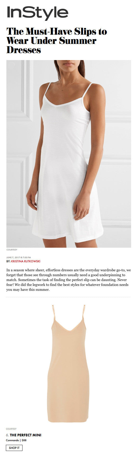 afd22e595041 The Must-Have Slips to Wear Under Summer Dresses | Commando®
