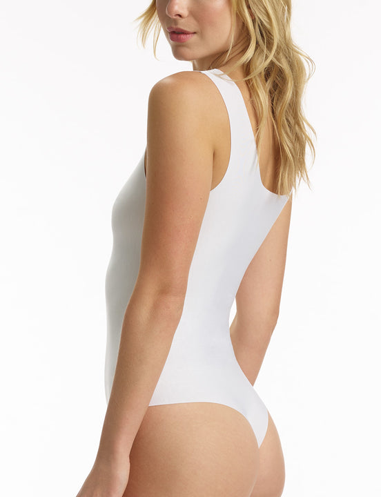 butter tank bodysuit white