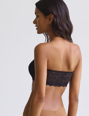 double take bandeau black
