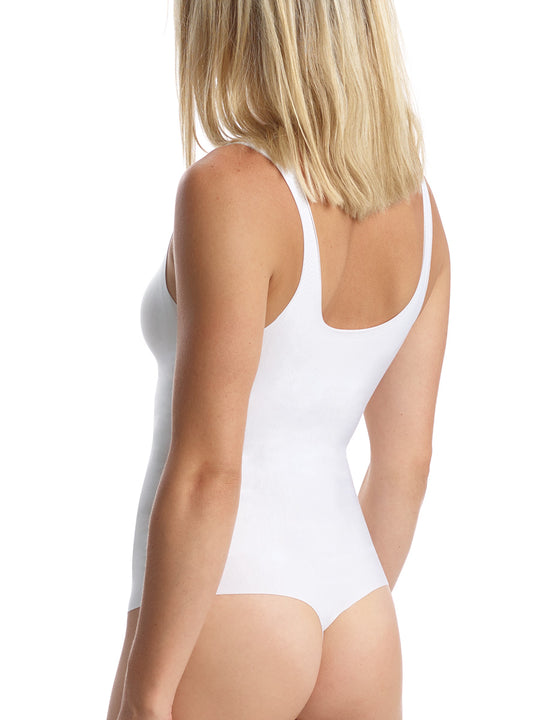 Butter Soft -Support Bodysuit in White