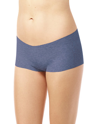 women's cotton boyshort in blue