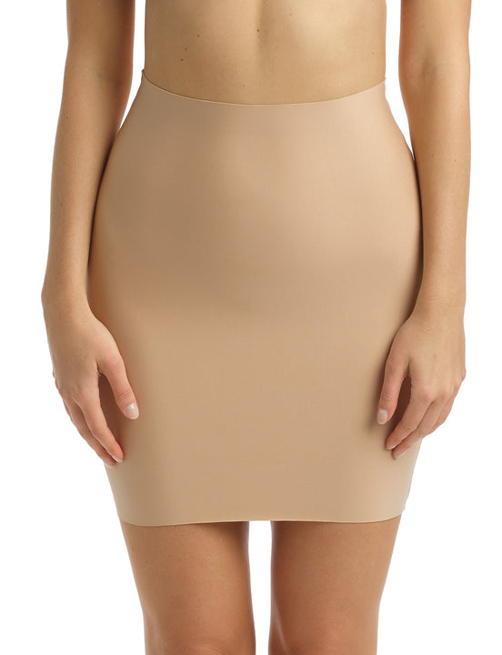 Two-Faced Tech Half Slip in Beige