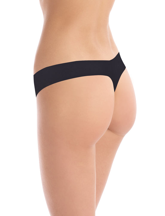 cotton thong black