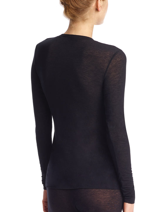 cashmere layer tee