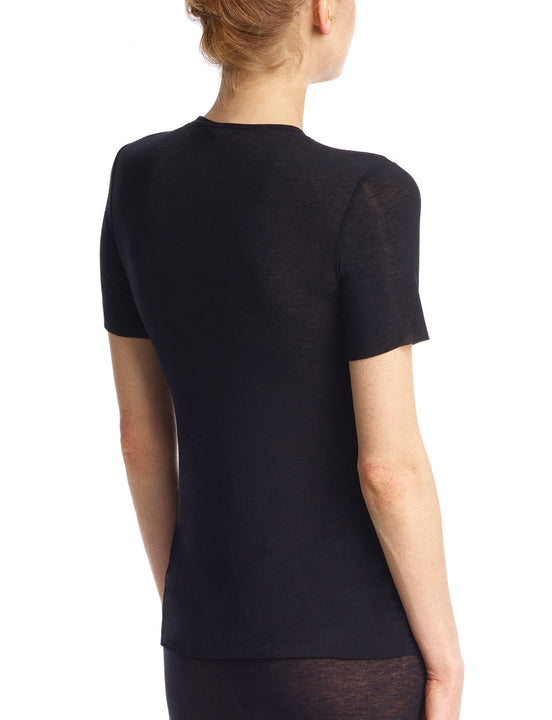 cashmere layering tee