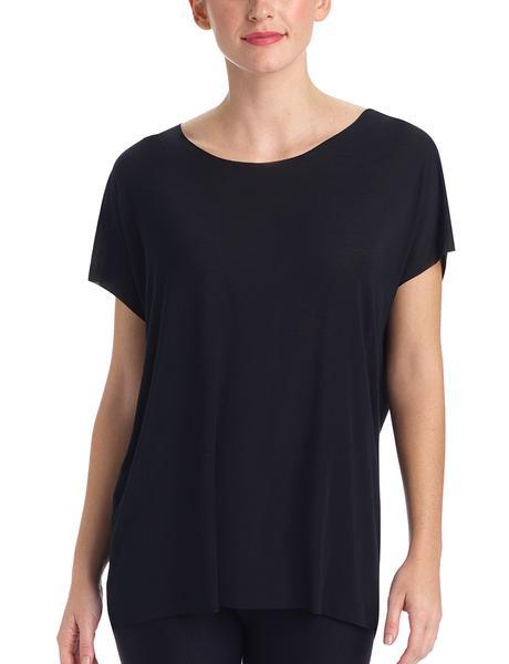covet oversized tee black