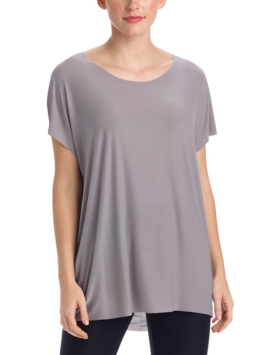covet oversized dove tee