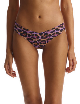 thong print painted leopard