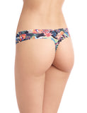 printed seamless thong