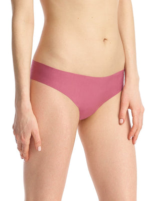 butter mid rise thong in antique rose