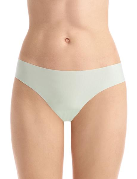 butter mid rise thong in mint