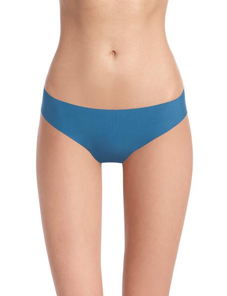 butter mid rise thong in thai blue