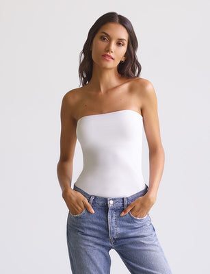 Lifted Classic Tube Top with Shelf Bra