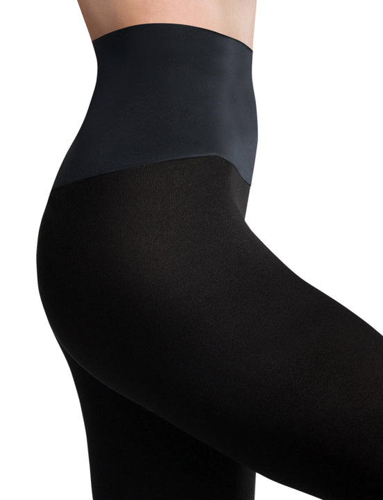 Eclipse Opaque Matte Tights in Black