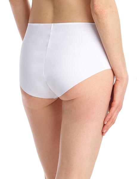 Classic High Rise Panty White