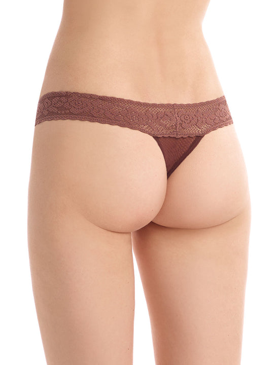kitty soft thong in mocha