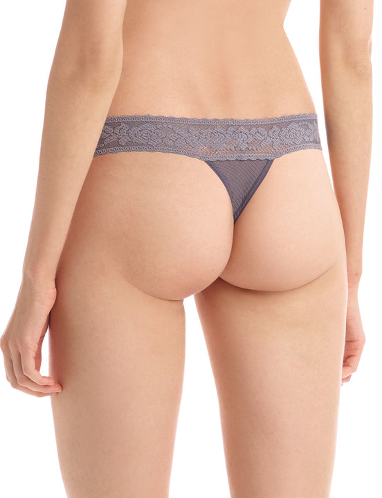 kitty soft thong in slate