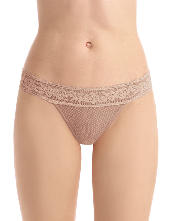 kitty soft thong in beige