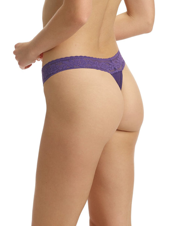 Kitty Soft Thong in Amethyst