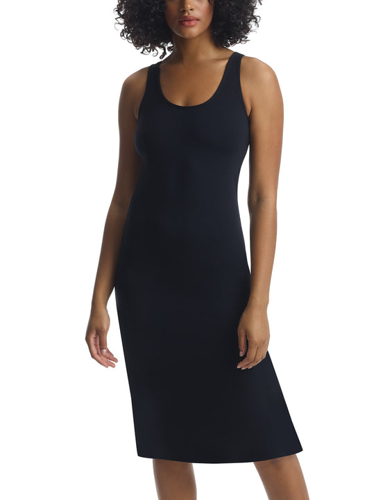 Butter Lifted Backless Lounge Dress in Black