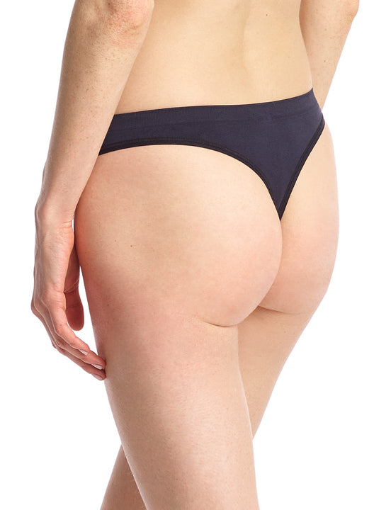 Women's Minimalist Thong Black