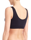 Women's Minimalist Tank Bralette in Black