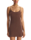 Mini Cami Slip in Mocha