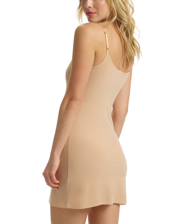 Mini Cami Slip in Beige