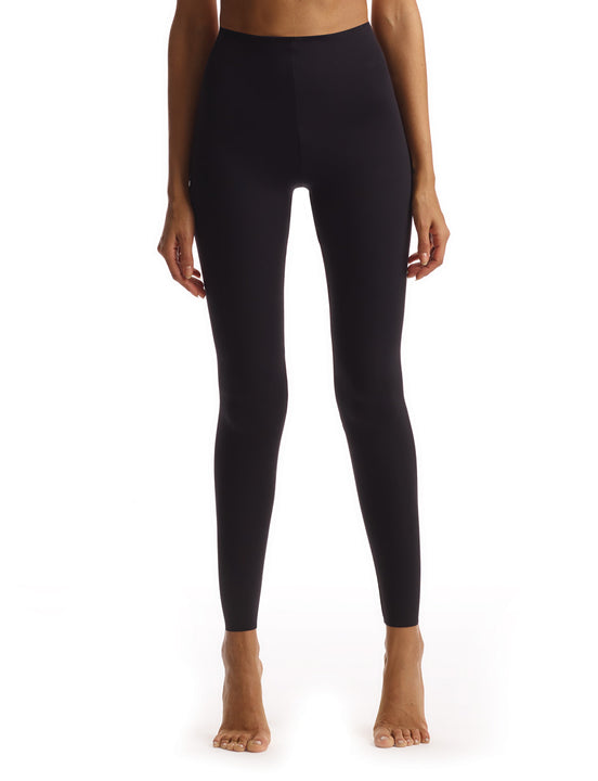 women's black neoprene legging