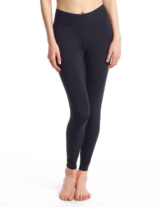loungewear leggings in black