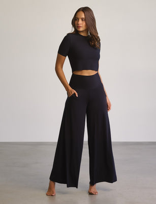Butter Wide Leg Lounge Pant