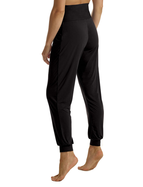 Butter High Rise Jogger in Black