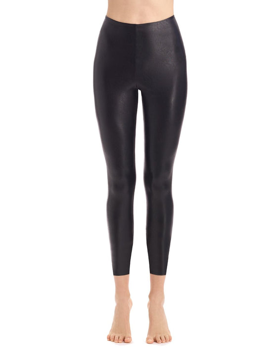 faux leather 7/8 legging