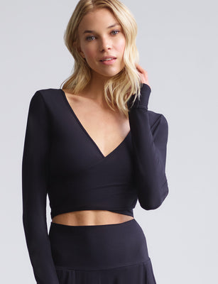 Butter Wrap Top with Thumb Holes