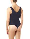 women's lightweight bodysuit black