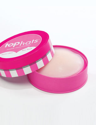 Commando Top Hats: Medical Grade Nipple Concealer