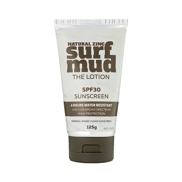 surf mud – The Lotion SPF30, non-greasy