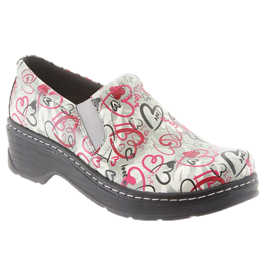 Klogs Natalie Women's Love Patent 8 M Clog Display Model Shoes