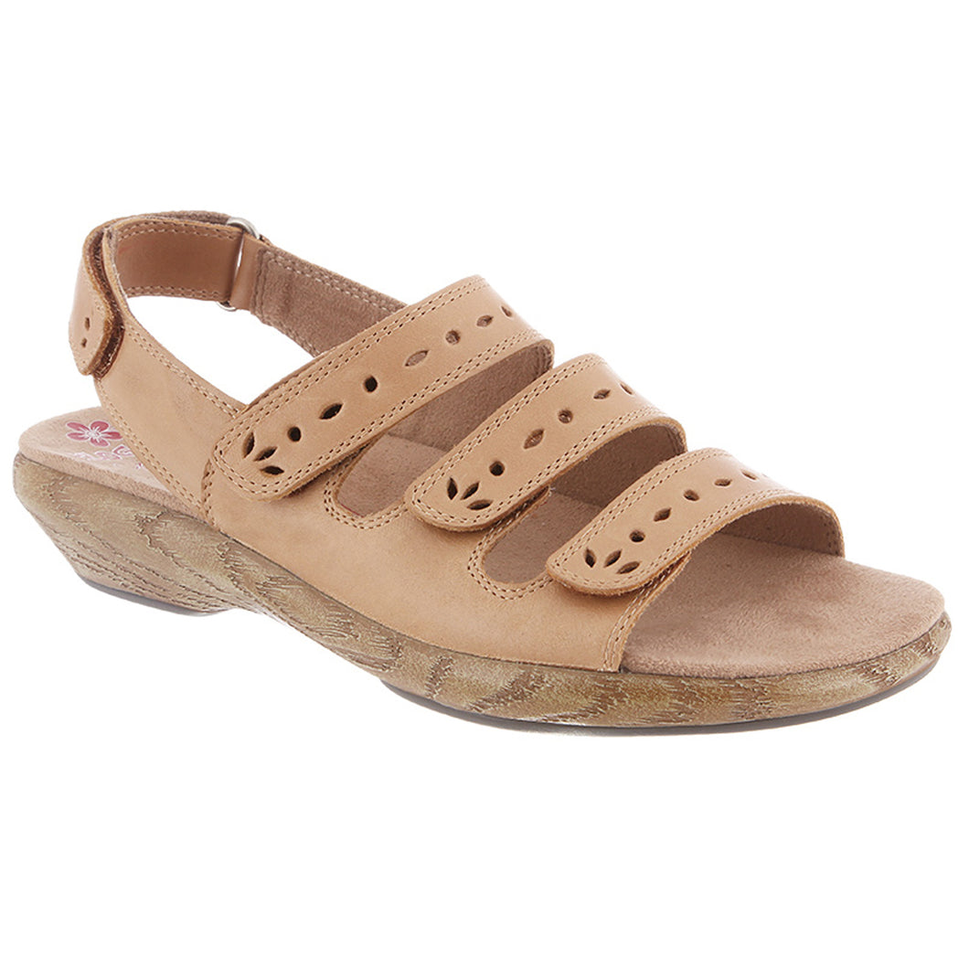 Lacie By Klogs Camel Bali Womens Leather Sandals 8 M