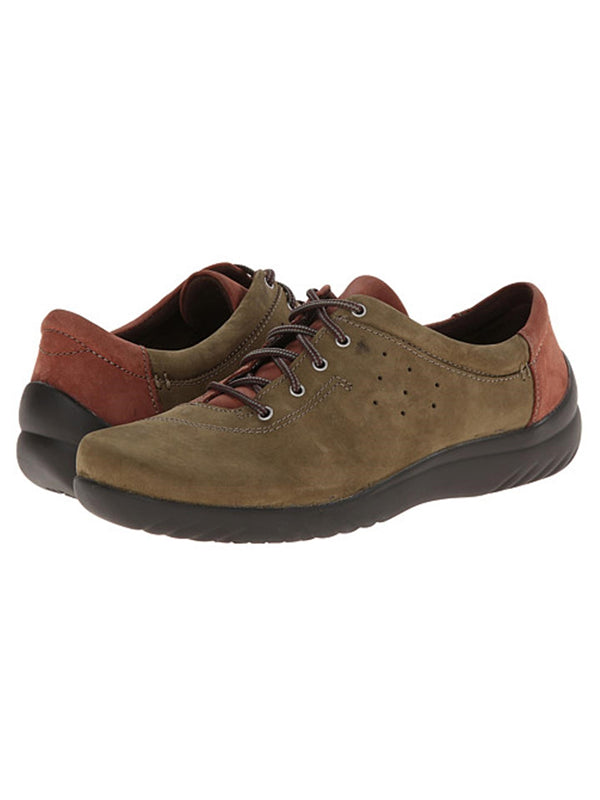 Pisa By Klogs Partridge/Beech Womens Leather Lace Up Shoes 7 M