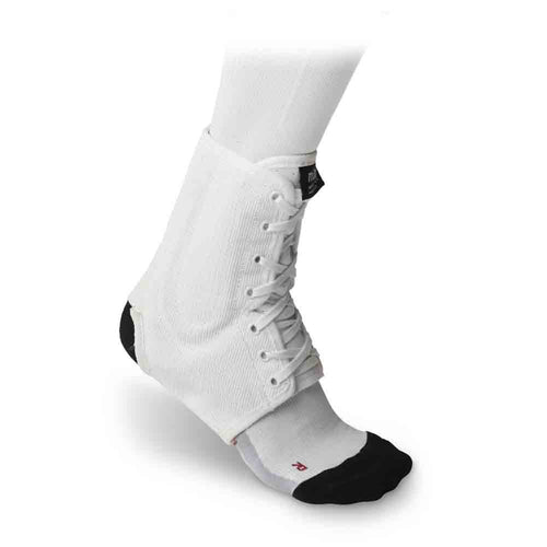 McDavid 199 IR Level 3 Ankle Brace / Lace-up W/ Stays White Large