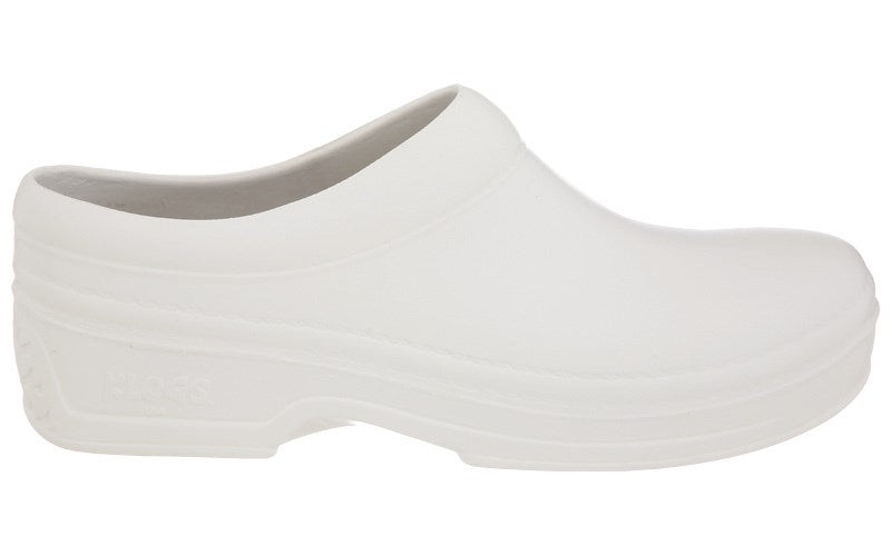 Klogs Spokan Women's White 8 W Polyurethane Clog Display Model Shoes