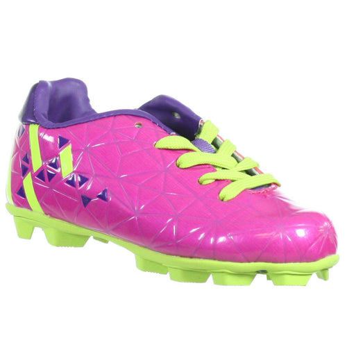 Classic Sport 3020 GPKPU Toddler Soccer Cleats Pink Purple Neon 10T