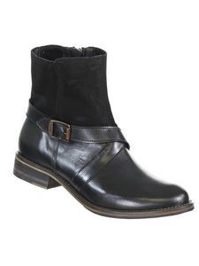 Wolverine Women's Pearl Ankle Buckle Boots Black 9 M