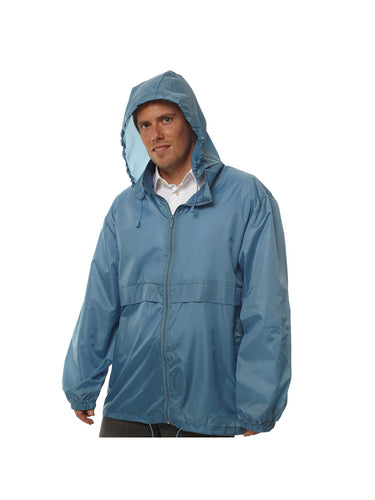 Totes TMP500 Men's Packable Rain Jacket Blue X-Large, XL
