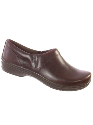 Klogs Mike Mens Leather Clogs Display Model Shoes Mahogany Smooth 8.5 M