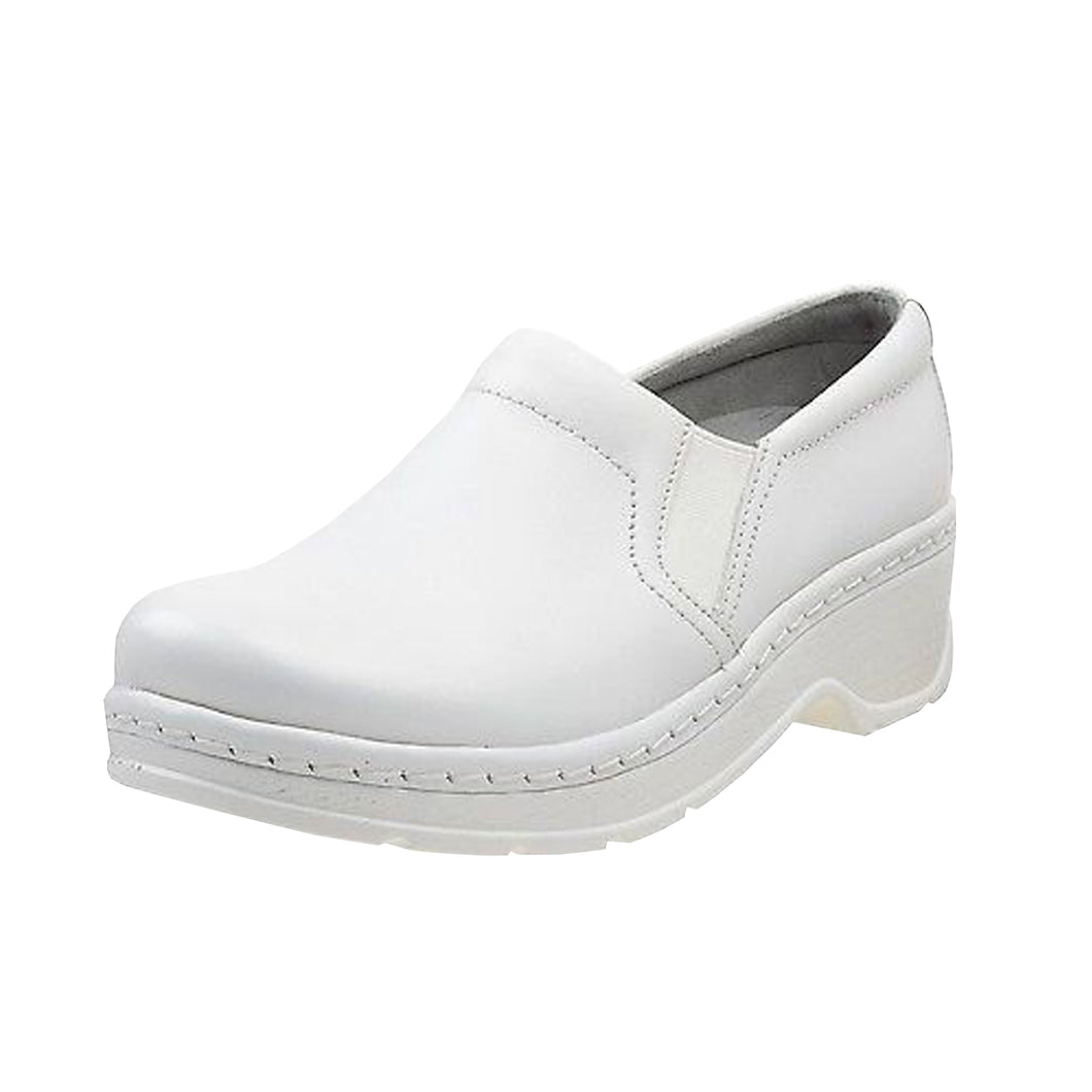 Klogs Natalie Women's White Smooth 11 M Clog Display Model Shoes